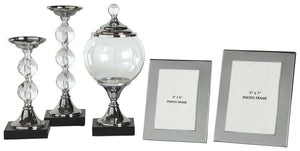 Diella Accessory Set Set of 5 A2C00125 Candles and Candle Holders