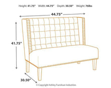 Load image into Gallery viewer, Beauland Accent Bench A3000116