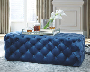 Lister Accent Ottoman A3000169 By Ashley Furniture from sofafair