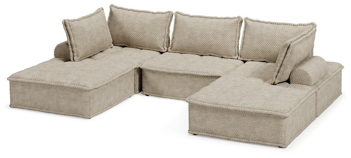 Bales 5Piece Modular Seating A3000244A5 Casual motion sectional By ashley - sofafair.com