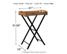 Load image into Gallery viewer, Cadocridge Accent Table A4000018
