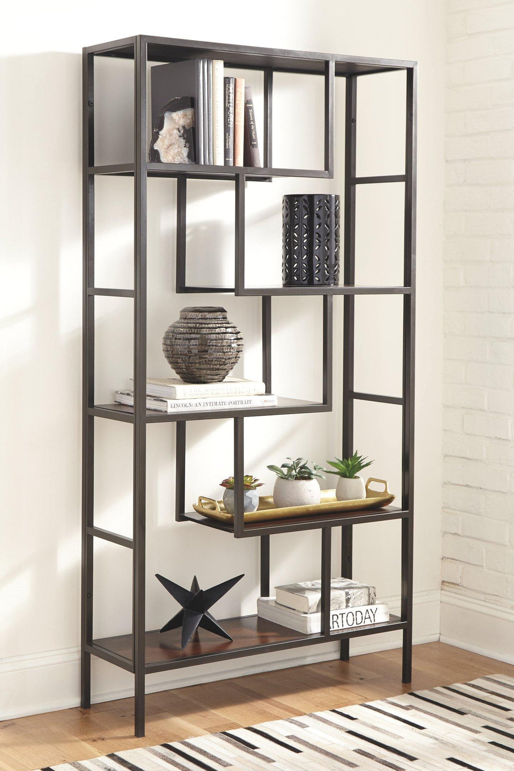 Frankwell Bookcase A4000021 By Ashley Furniture from sofafair
