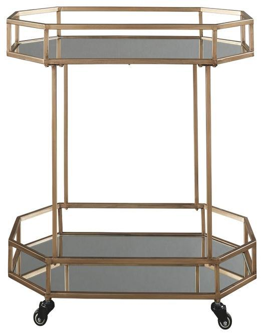 Daymont Bar Cart A4000102 By Ashley Furniture from sofafair