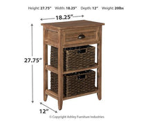 Load image into Gallery viewer, Oslember Accent Table A4000140