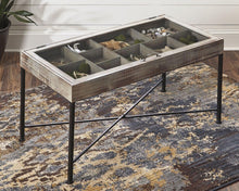 Load image into Gallery viewer, Shellmond Coffee Table with Display Case A4000208 By Ashley Furniture from sofafair