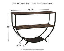Load image into Gallery viewer, Lamoney Sofa/Console Table A4000234