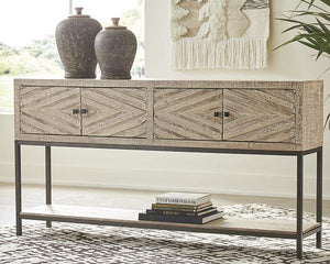 Roanley Sofa/Console Table A4000262 By Ashley Furniture from sofafair