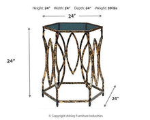 Load image into Gallery viewer, Keita Accent Table A4000273