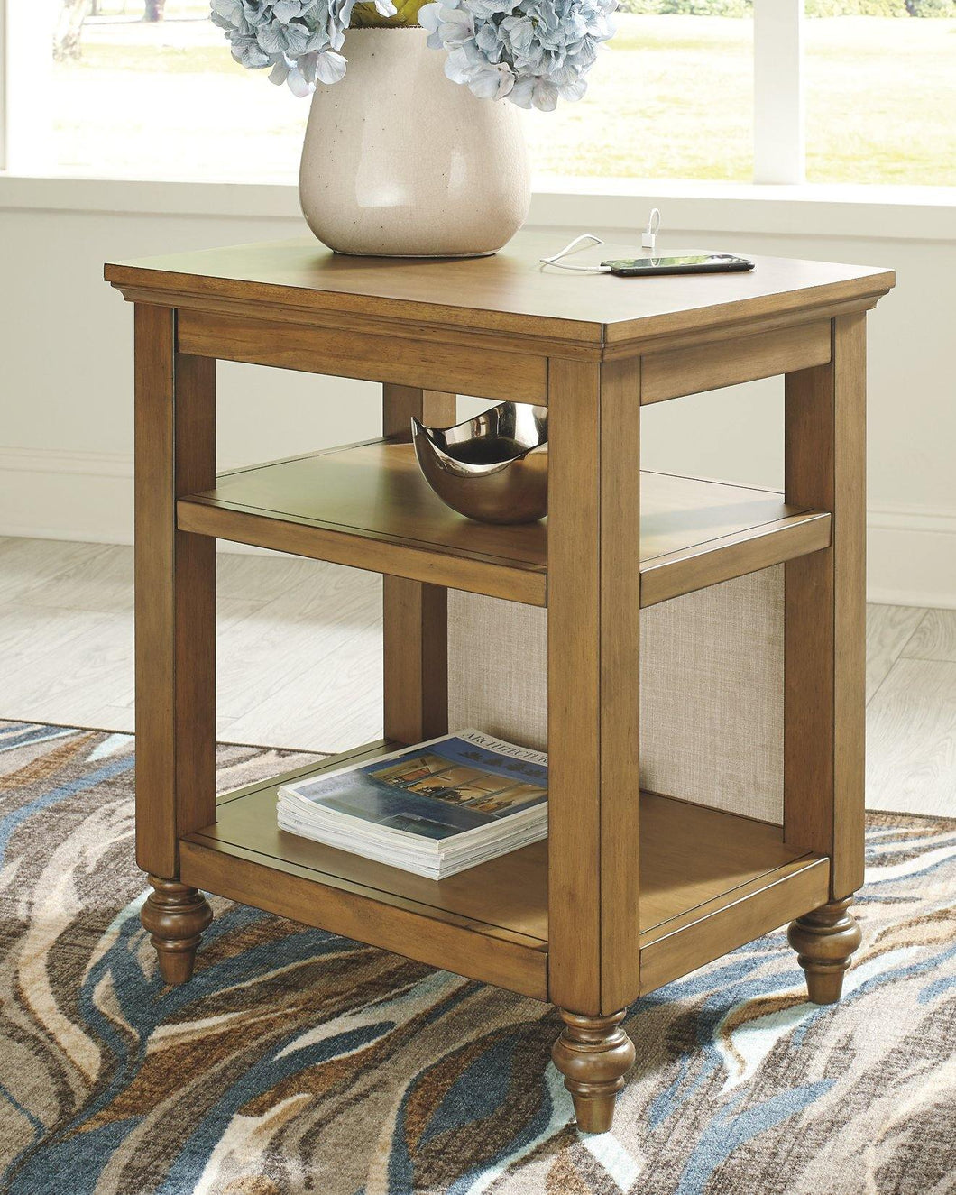 Brickwell Accent Table A4000278 By Ashley Furniture from sofafair