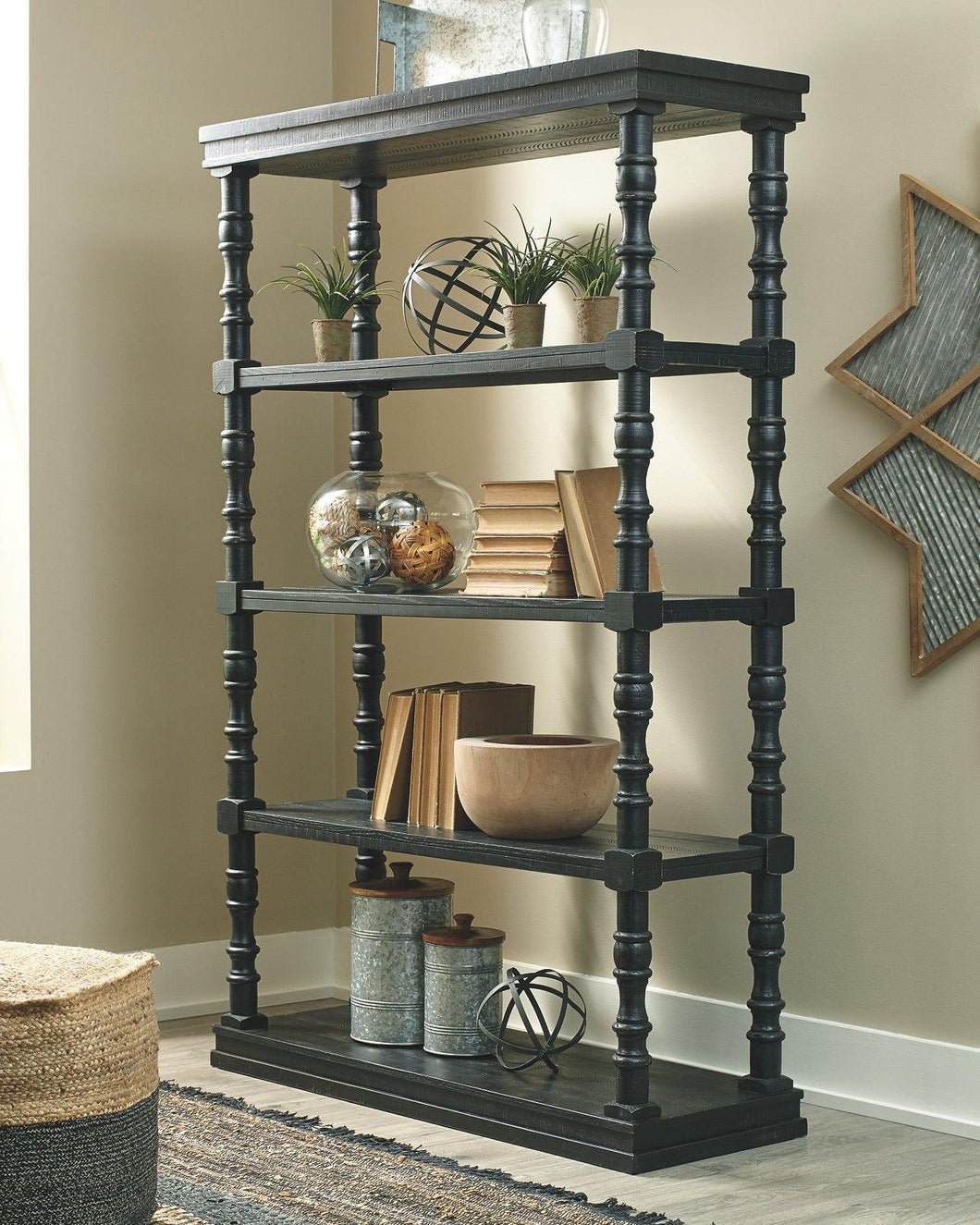 Dannerville 74 Bookcase A4000281 By Ashley Furniture from sofafair