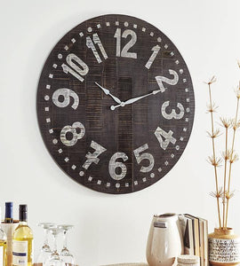 Brone Wall Clock A8010167 By Ashley Furniture from sofafair