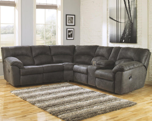 Tambo 2Piece Reclining Sectional 27801S1 By Ashley Furniture from sofafair