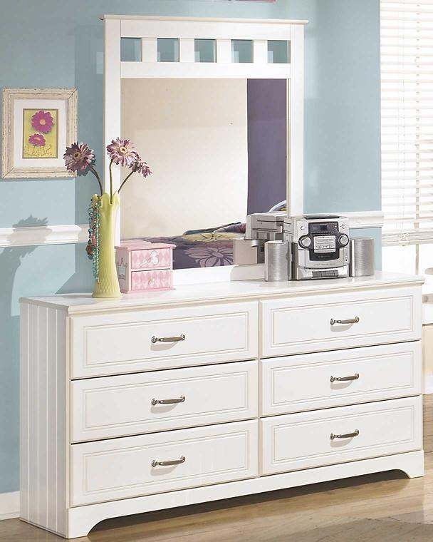 Lulu Dresser and Mirror B102B3 Girls Bedroom Furniture By Ashley Furniture from sofafair