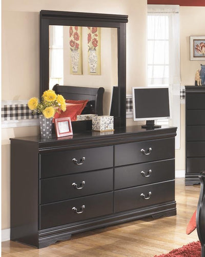 Huey Vineyard Dresser and Mirror B128B1 Girls Bedroom Furniture By Ashley Furniture from sofafair