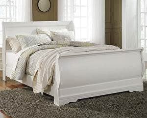 Anarasia Queen Sleigh Bed B129B4 By Ashley Furniture from sofafair