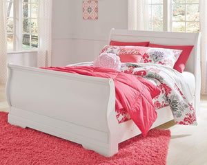 Anarasia Full Sleigh Bed B129B2 Girls Bedroom Furniture By Ashley Furniture from sofafair