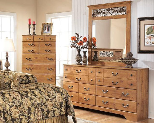 Bittersweet Dresser and Mirror B219B1 By Ashley Furniture from sofafair