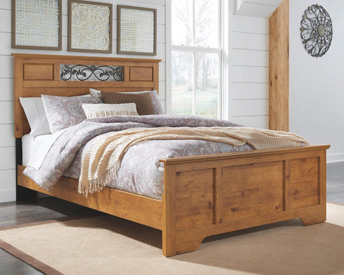 Bittersweet Queen Panel Bed B219B13 By Ashley Furniture from sofafair