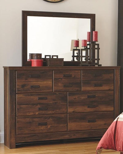 Quinden Dresser and Mirror B246B1 By Ashley Furniture from sofafair