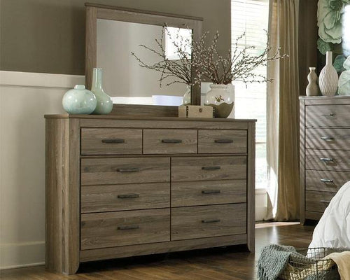 Zelen Dresser and Mirror B248B1 By Ashley Furniture from sofafair
