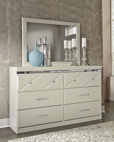 Dreamur Dresser and Mirror B351B1 By Ashley Furniture from sofafair