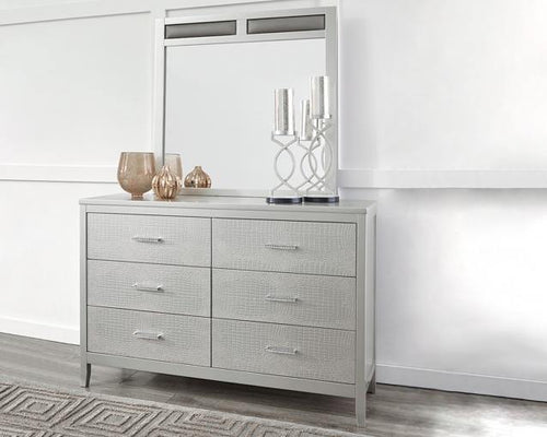 Olivet Dresser and Mirror B560B1 Girls Bedroom Furniture By Ashley Furniture from sofafair