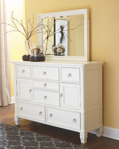 Prentice Dresser and Mirror B672B1 By Ashley Furniture from sofafair