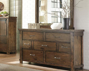 Lakeleigh Dresser and Mirror B718B1 By Ashley Furniture from sofafair