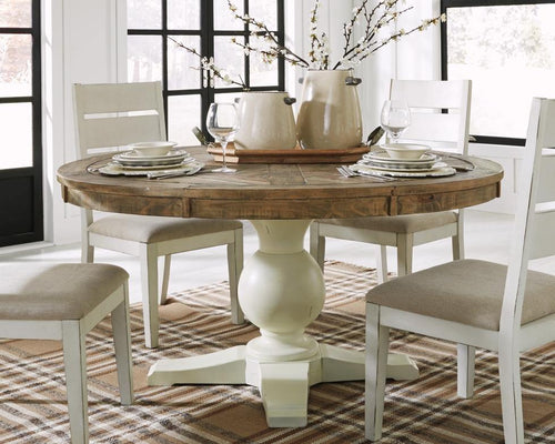 Grindleburg Dining Room Table D754D5 By Ashley Furniture from sofafair