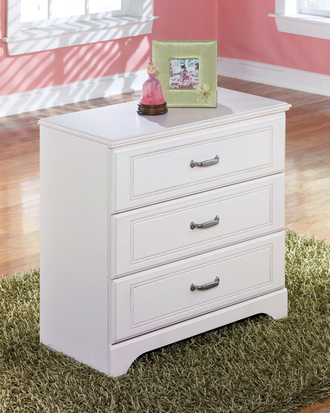 Lulu Twin Loft Bed with 3 Drawer Storage and Bookcase B102B16 Girls Bedroom Furniture By Ashley Furniture from sofafair