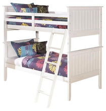Load image into Gallery viewer, Lulu 3Piece Twin over Twin Bunk Bed B102B9 Girls Bedroom Furniture