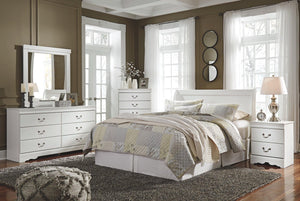 Anarasia Dresser and Mirror B129B3 Girls Bedroom Furniture
