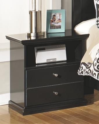 Maribel One Drawer Night Stand B138-91 Girls Bedroom Furniture By Ashley Furniture from sofafair