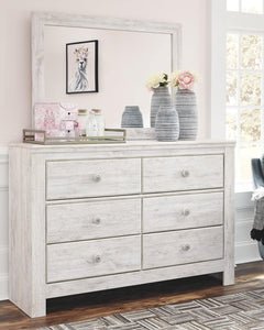 Paxberry Dresser and Mirror B181B3 By Ashley Furniture from sofafair