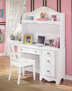 Exquisite Desk and Hutch B188B1 Girls Bedroom Furniture