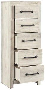 Cambeck Narrow Chest of Drawers B192-11 Girls Bedroom Furniture