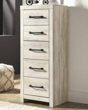 Load image into Gallery viewer, Cambeck Narrow Chest of Drawers B192-11 Girls Bedroom Furniture