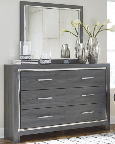 Lodanna Dresser and Mirror B214B1 By Ashley Furniture from sofafair