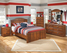 Load image into Gallery viewer, Barchan Full Panel Bed B228B5 Boys Bedroom Furniture