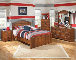 Barchan Full Panel Bed B228B5 Boys Bedroom Furniture