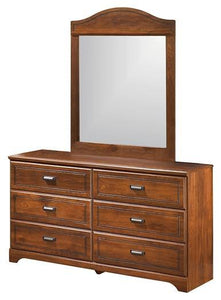 Barchan Dresser and Mirror B228B1 Boys Bedroom Furniture