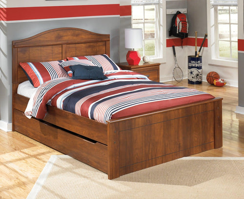 Barchan Full Panel Bed with Trundle B228B6 Boys Bedroom Furniture By Ashley Furniture from sofafair