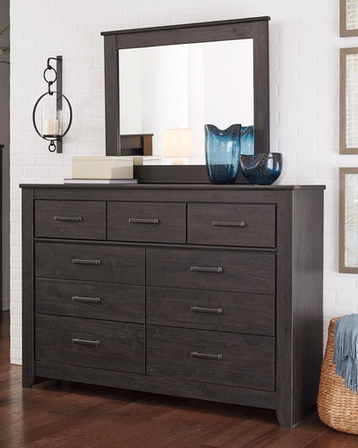 Brinxton Dresser and Mirror B249B1 By Ashley Furniture from sofafair