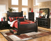 Shay Chest of Drawers B271-46 Master Bed Cases
