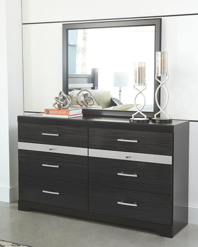 Starberry Dresser and Mirror B304B1 By Ashley Furniture from sofafair