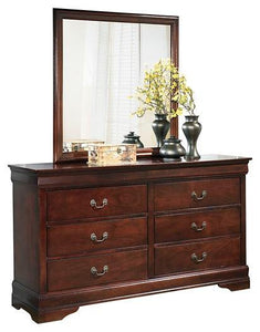 Alisdair Dresser and Mirror B376B1 Girls Bedroom Furniture