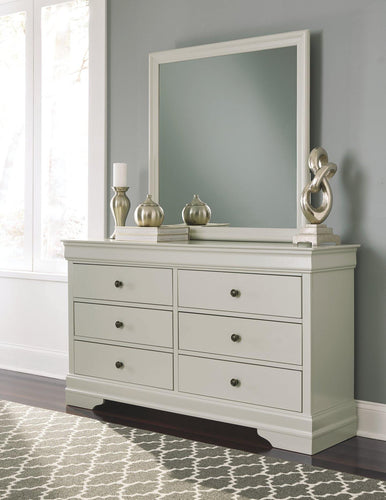 Jorstad Dresser and Mirror B378B1 Girls Bedroom Furniture By Ashley Furniture from sofafair