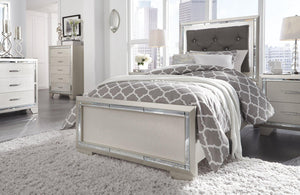 Lonnix Twin Panel Bed B410B2 Girls Bedroom Furniture