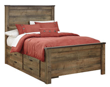 Load image into Gallery viewer, Trinell Full Panel Bed with 2 Storage Drawers B446B16 Boys Bedroom Furniture