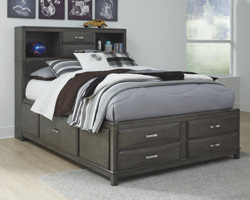 Caitbrook Full Storage Bed with 7 Drawers B476B4 By Ashley Furniture from sofafair